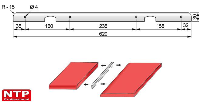 listwa kątowa 28mm rysunek techniczny