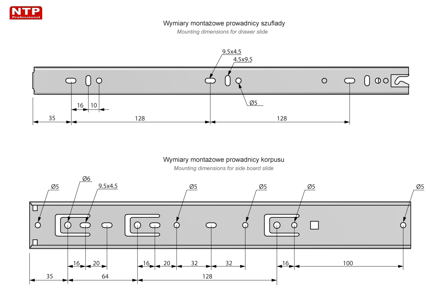 PK45S-350 rysunek techniczny