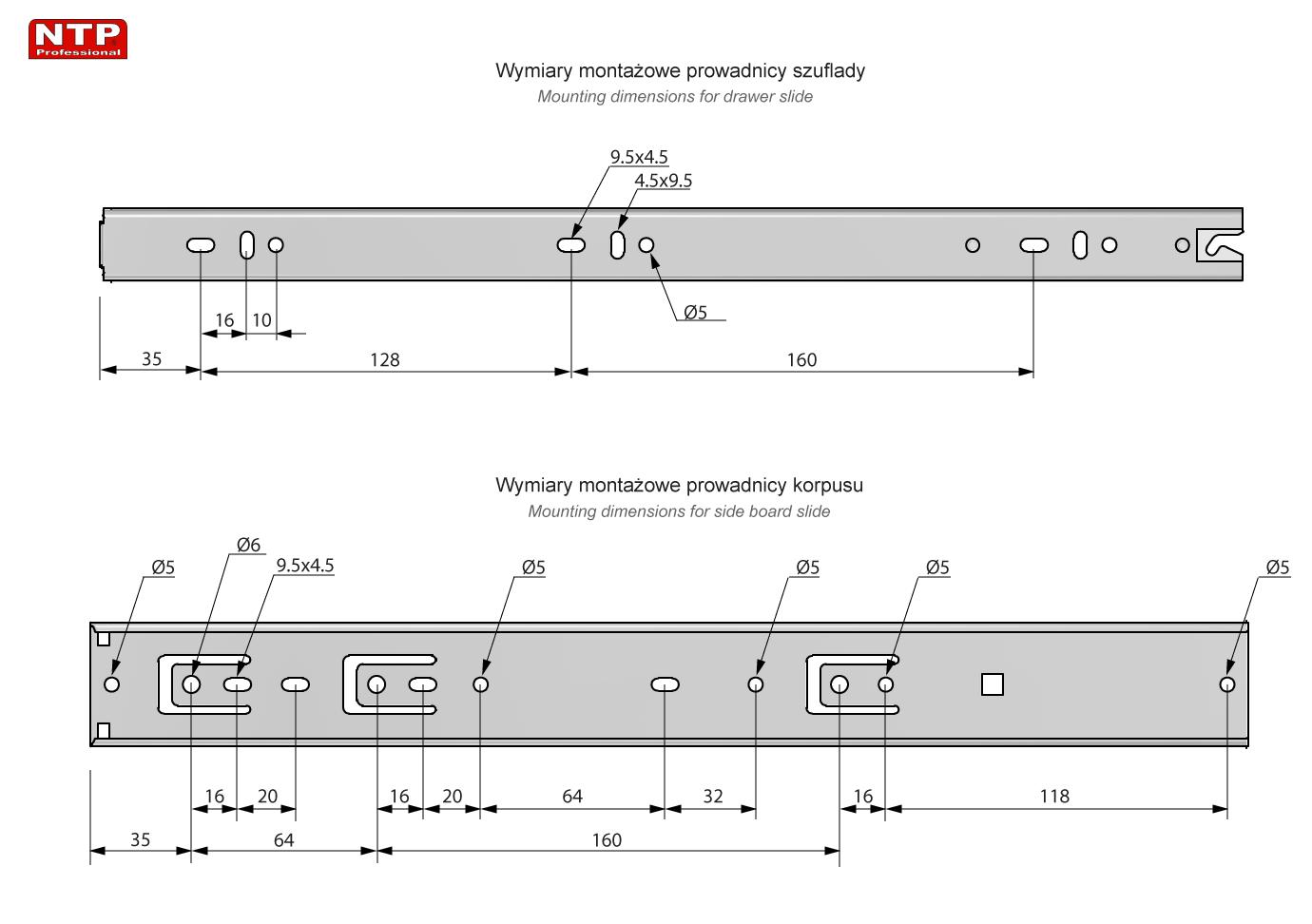 PK45S-400 rysunek techniczny