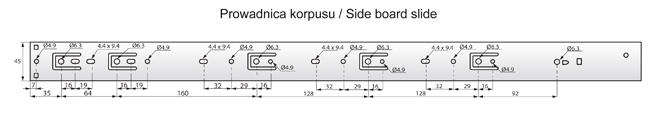 PK45S-700 rysunek techniczny