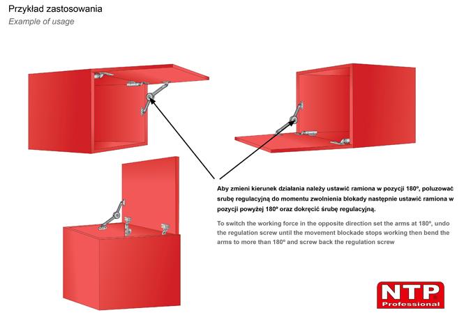Podnośnik mechaniczny PM02 przykłady zastosowania