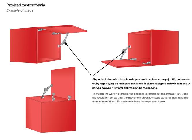 Podnośnik mechaniczny PM04 przykłady zastosowania