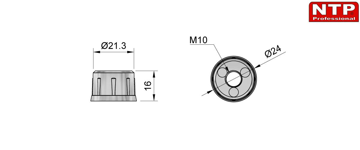 mufa rysunek techniczny