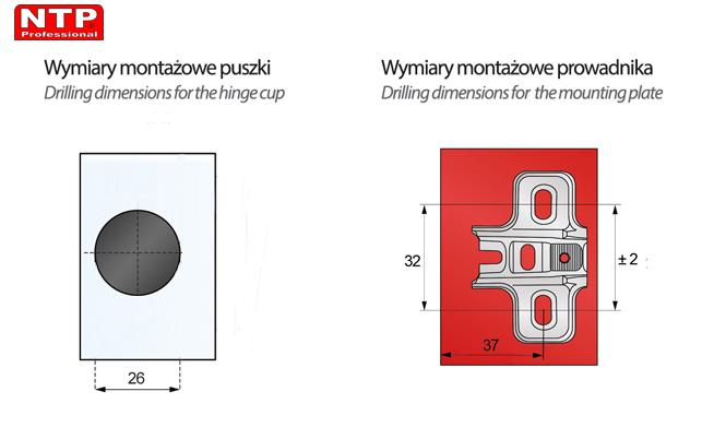 ZG22-H1-AG01 wymiary montażowe