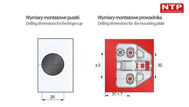 ZGCS23-H0R-1Z-AG01 wymiary montażowe