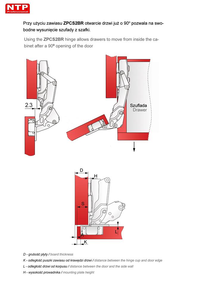 ZPCS2BR-H0R rysunki techniczne