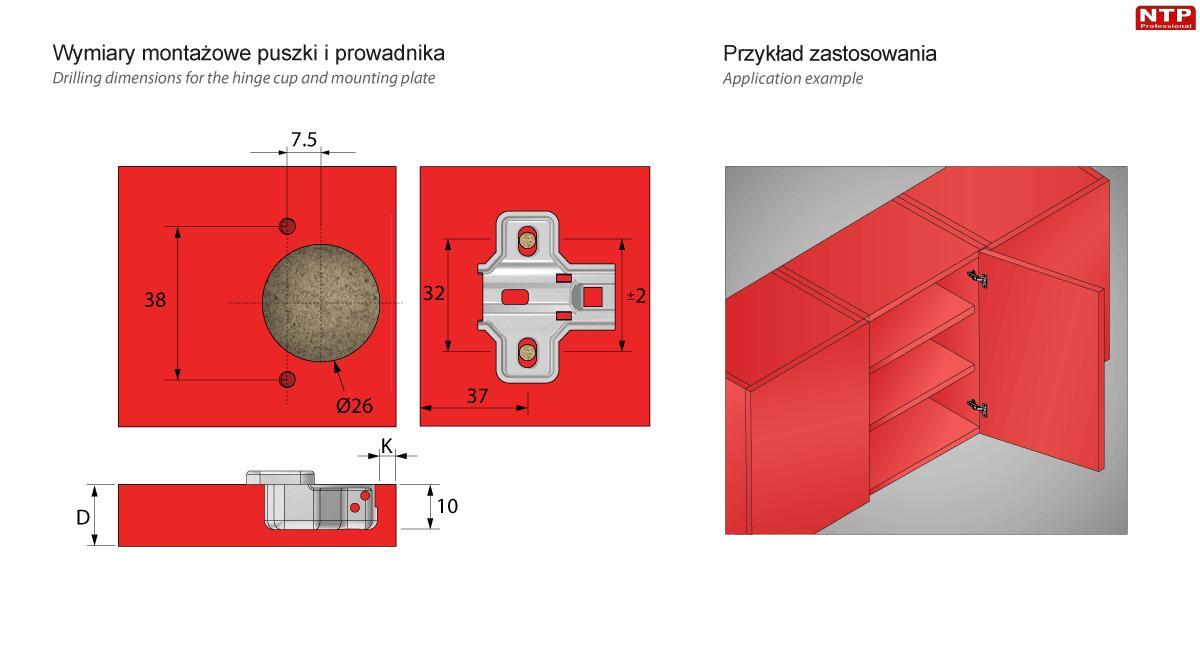 ZPM01-H0 Przykład zastosowania i montaż